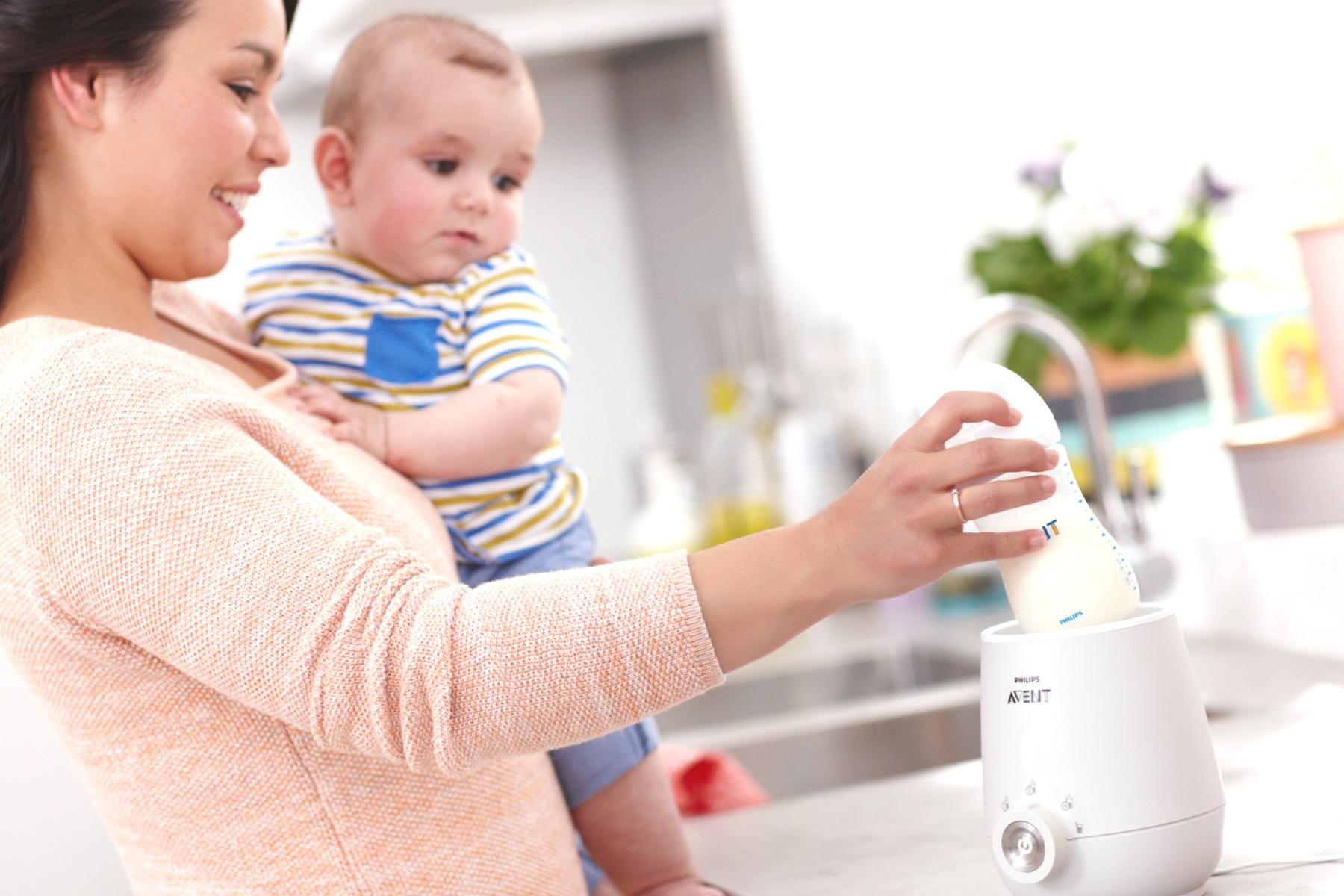 reer Babykostwärmer Simply Hot Nahrung Flaschenwärmer für Baby Fläschchen 3310
